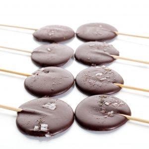 Piruletas de chocolate. Postres. Pasteles a domicilio Madrid