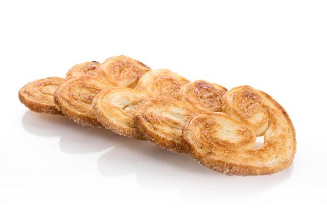 Palmeritas. Canapés dulces. Bollería a domicilio Madrid