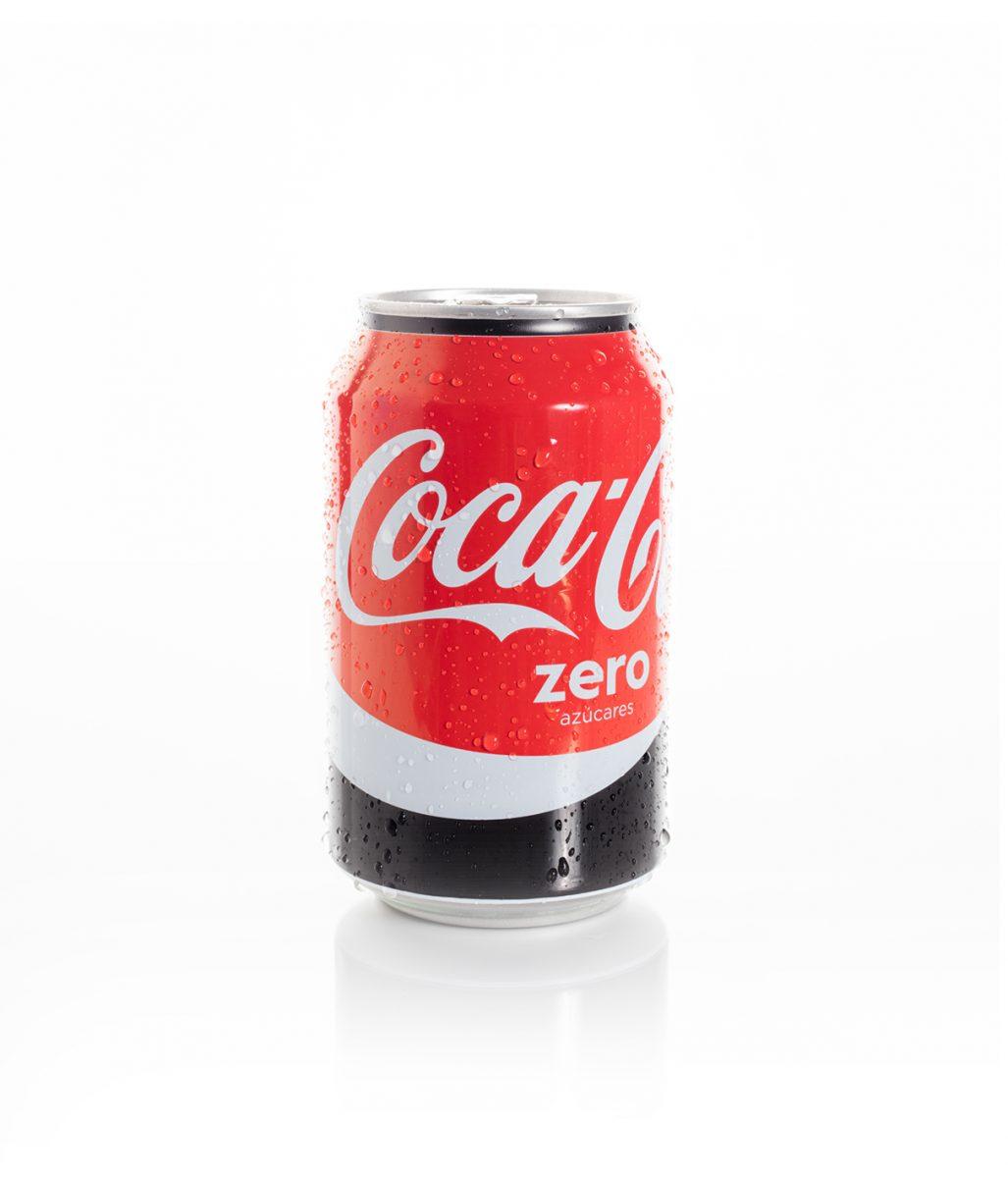 Coca-cola Zero. Bebidas. Catering online Madrid